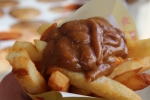 Frites With Peanut Sauce